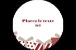 Les gabarits Éléphant blanc pour votre prochain projet des Fêtes Étiquettes arrondies - gabarit prédéfini. <br/>Utilisez notre logiciel Avery Design & Print Online pour personnaliser facilement la conception.