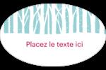Les gabarits Forêt hivernale pour votre prochain projet des Fêtes Étiquettes carrées - gabarit prédéfini. <br/>Utilisez notre logiciel Avery Design & Print Online pour personnaliser facilement la conception.