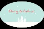 Les gabarits Neige tombant sur les arbres pour votre prochain projet des Fêtes Étiquettes carrées - gabarit prédéfini. <br/>Utilisez notre logiciel Avery Design & Print Online pour personnaliser facilement la conception.