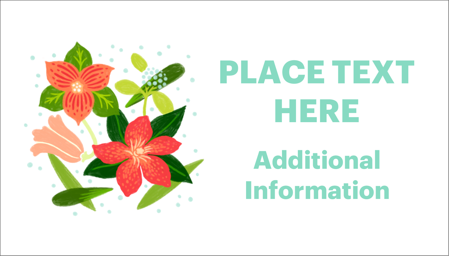 Add seasonal beauty to custom projects with printable pre-designed Floral Bloom templates.