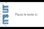 Hanoukka, la fête des Lumières Carte d'affaire - gabarit prédéfini. <br/>Utilisez notre logiciel Avery Design & Print Online pour personnaliser facilement la conception.
