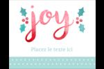 « Joy » écrit à la main Étiquettes rondes gaufrées - gabarit prédéfini. <br/>Utilisez notre logiciel Avery Design & Print Online pour personnaliser facilement la conception.