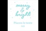« Merry and Bright » écrit à la main Étiquettes enveloppantes - gabarit prédéfini. <br/>Utilisez notre logiciel Avery Design & Print Online pour personnaliser facilement la conception.