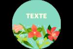 Pleine floraison  Étiquettes de classement - gabarit prédéfini. <br/>Utilisez notre logiciel Avery Design & Print Online pour personnaliser facilement la conception.