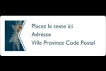 Couronne élégante Étiquettes D'Adresse - gabarit prédéfini. <br/>Utilisez notre logiciel Avery Design & Print Online pour personnaliser facilement la conception.