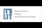 Hanoukka, la fête des Lumières Étiquettes D'Adresse - gabarit prédéfini. <br/>Utilisez notre logiciel Avery Design & Print Online pour personnaliser facilement la conception.