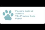Joyeuses bêtes Étiquettes D'Adresse - gabarit prédéfini. <br/>Utilisez notre logiciel Avery Design & Print Online pour personnaliser facilement la conception.