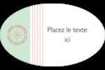 Sceau en blocs de couleur Étiquettes carrées - gabarit prédéfini. <br/>Utilisez notre logiciel Avery Design & Print Online pour personnaliser facilement la conception.