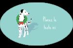 Joyeuses bêtes Étiquettes carrées - gabarit prédéfini. <br/>Utilisez notre logiciel Avery Design & Print Online pour personnaliser facilement la conception.