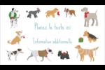 Joyeuses bêtes Cartes Pour Le Bureau - gabarit prédéfini. <br/>Utilisez notre logiciel Avery Design & Print Online pour personnaliser facilement la conception.