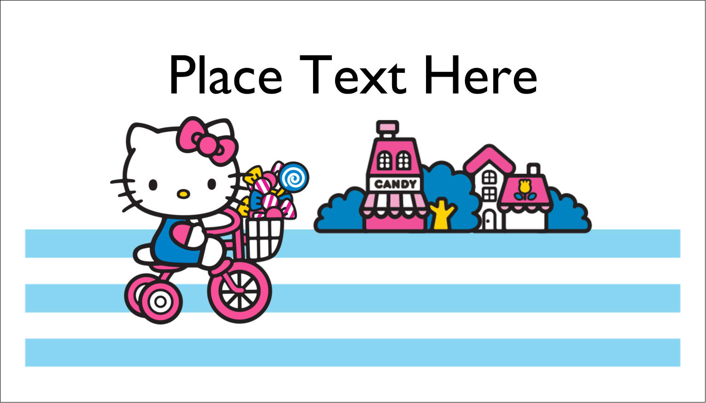 "2"" x 3½"" Business Card - Sweetest Bike Ride"