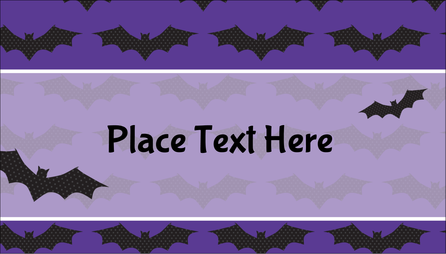 "2"" x 3½"" Business Card - Halloween Bats"