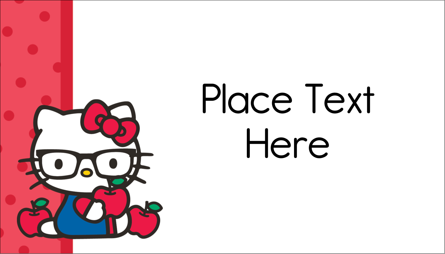 "2"" x 3½"" Business Card - Your Friend Hello Kitty"