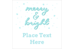 Add seasonal cheer to projects with pre-designed Handwritten Merry and Bright templates.