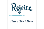 Add joyful simplicity to custom projects with pre-designed Handwritten Rejoice templates.