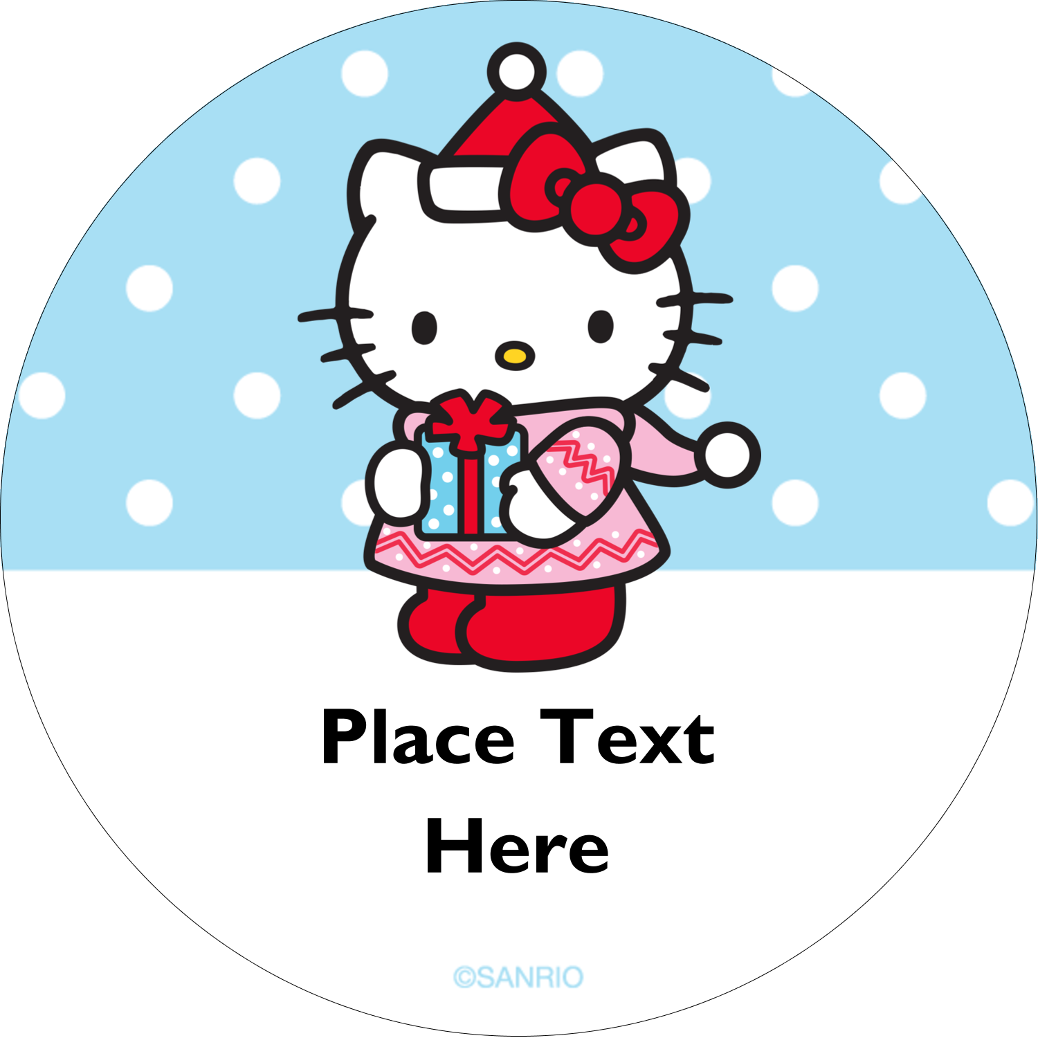 "2"" Round Label - Small Gift, Big Smile®"
