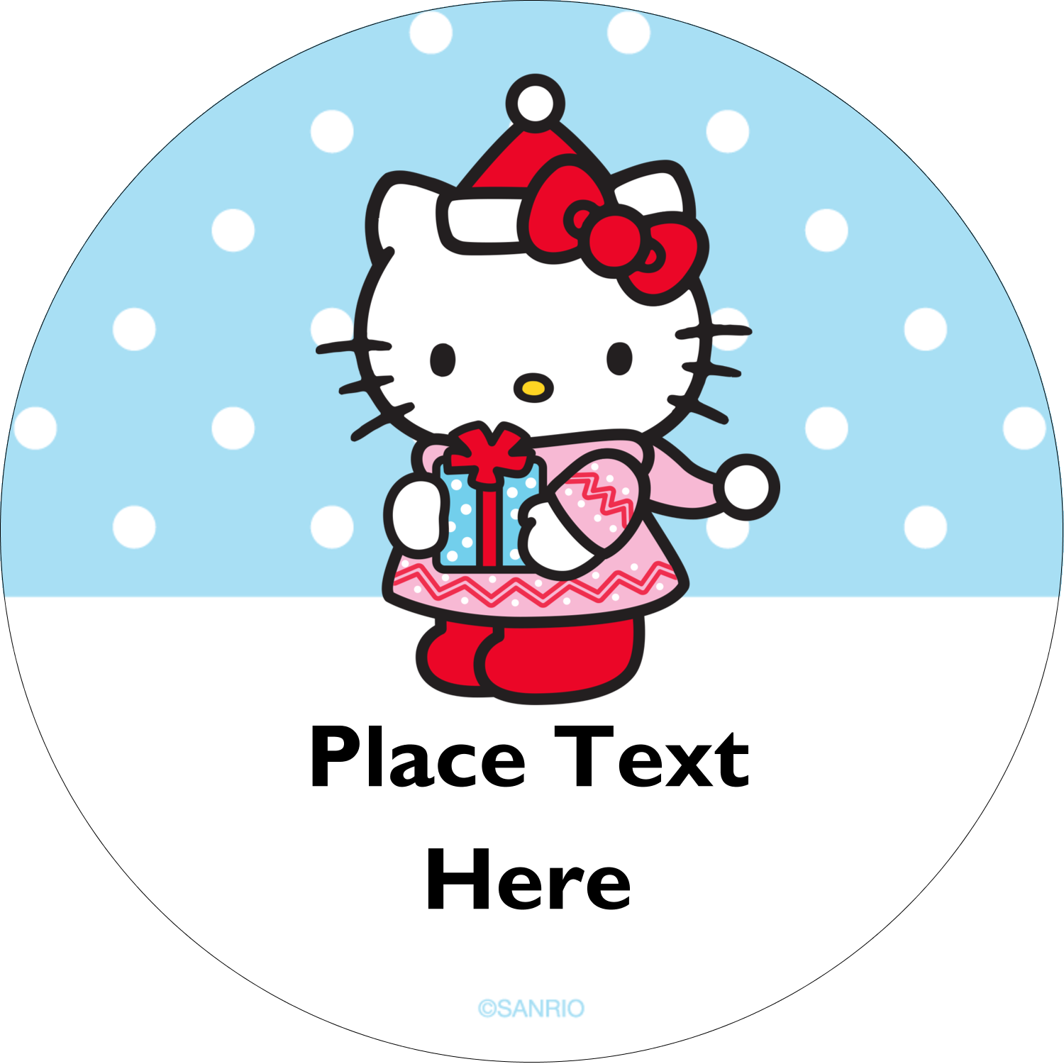 "2½"" Round Label - Small Gift, Big Smile®"