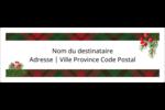 Tartan chaleureux Étiquettes d'adresse - gabarit prédéfini. <br/>Utilisez notre logiciel Avery Design & Print Online pour personnaliser facilement la conception.