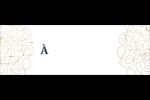 Hanoukka étincelante Étiquettes d'adresse - gabarit prédéfini. <br/>Utilisez notre logiciel Avery Design & Print Online pour personnaliser facilement la conception.