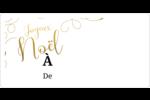 Noël étincelant Étiquettes d'expédition - gabarit prédéfini. <br/>Utilisez notre logiciel Avery Design & Print Online pour personnaliser facilement la conception.