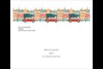 Coccinelle festive Étiquettes d'expédition - gabarit prédéfini. <br/>Utilisez notre logiciel Avery Design & Print Online pour personnaliser facilement la conception.