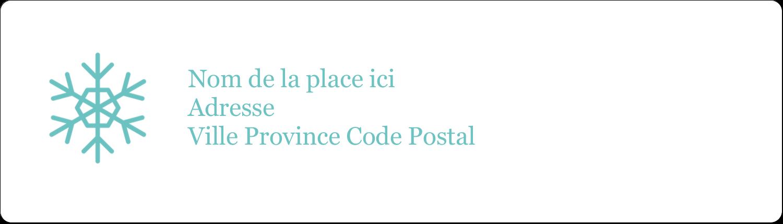 Hanoukka fantaisiste Étiquettes D'Adresse - gabarit prédéfini. <br/>Utilisez notre logiciel Avery Design & Print Online pour personnaliser facilement la conception.