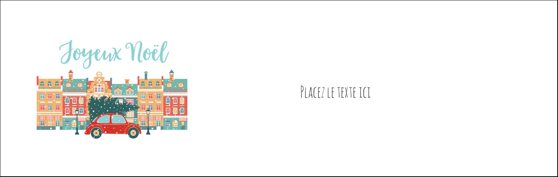 Coccinelle festive Affichette - gabarit prédéfini. <br/>Utilisez notre logiciel Avery Design & Print Online pour personnaliser facilement la conception.