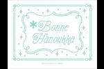Hanoukka fantaisiste Cartes de notes - gabarit prédéfini. <br/>Utilisez notre logiciel Avery Design & Print Online pour personnaliser facilement la conception.