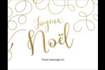 Noël étincelant Cartes de notes - gabarit prédéfini. <br/>Utilisez notre logiciel Avery Design & Print Online pour personnaliser facilement la conception.