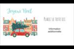 Coccinelle festive Cartes d'affaires - gabarit prédéfini. <br/>Utilisez notre logiciel Avery Design & Print Online pour personnaliser facilement la conception.