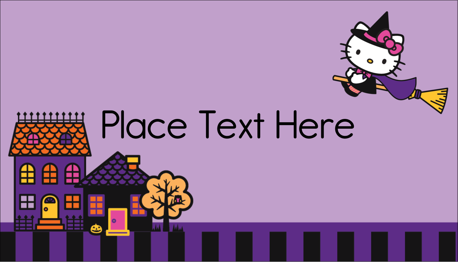 "2"" x 3½"" Business Card - Hello Kitty Halloween"
