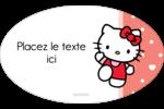 Nous aimons Hello Kitty Étiquettes carrées - gabarit prédéfini. <br/>Utilisez notre logiciel Avery Design & Print Online pour personnaliser facilement la conception.