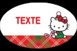 Souhaits chaleureux pour la période des fêtes Étiquettes carrées - gabarit prédéfini. <br/>Utilisez notre logiciel Avery Design & Print Online pour personnaliser facilement la conception.