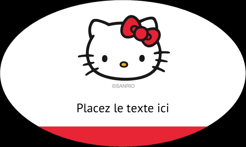"""1½"""" x 1½"""" Étiquettes carrées - Bonjour Ami!"""