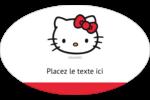 Bonjour Ami! Étiquettes carrées - gabarit prédéfini. <br/>Utilisez notre logiciel Avery Design & Print Online pour personnaliser facilement la conception.