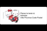 Hello Kitty et Cher Daniel Valentin Étiquettes D'Adresse - gabarit prédéfini. <br/>Utilisez notre logiciel Avery Design & Print Online pour personnaliser facilement la conception.