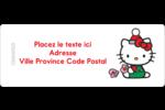 Souhaits chaleureux pour la période des fêtes Étiquettes D'Adresse - gabarit prédéfini. <br/>Utilisez notre logiciel Avery Design & Print Online pour personnaliser facilement la conception.