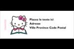 Temps d'étudier Étiquettes D'Adresse - gabarit prédéfini. <br/>Utilisez notre logiciel Avery Design & Print Online pour personnaliser facilement la conception.