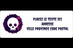 Cercueil d'Halloween Étiquettes D'Adresse - gabarit prédéfini. <br/>Utilisez notre logiciel Avery Design & Print Online pour personnaliser facilement la conception.