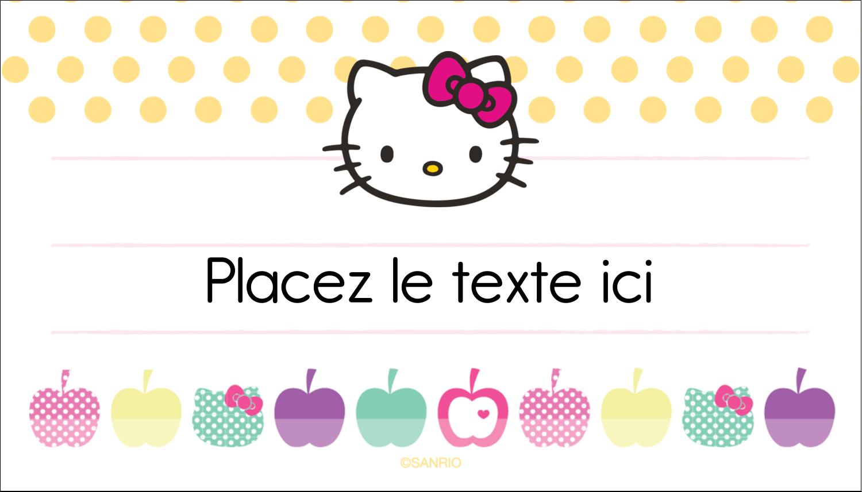 """2"""" x 3½"""" Carte d'affaire - Prunelle de mon œil"""