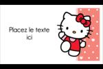 Nous aimons Hello Kitty Cartes Pour Le Bureau - gabarit prédéfini. <br/>Utilisez notre logiciel Avery Design & Print Online pour personnaliser facilement la conception.