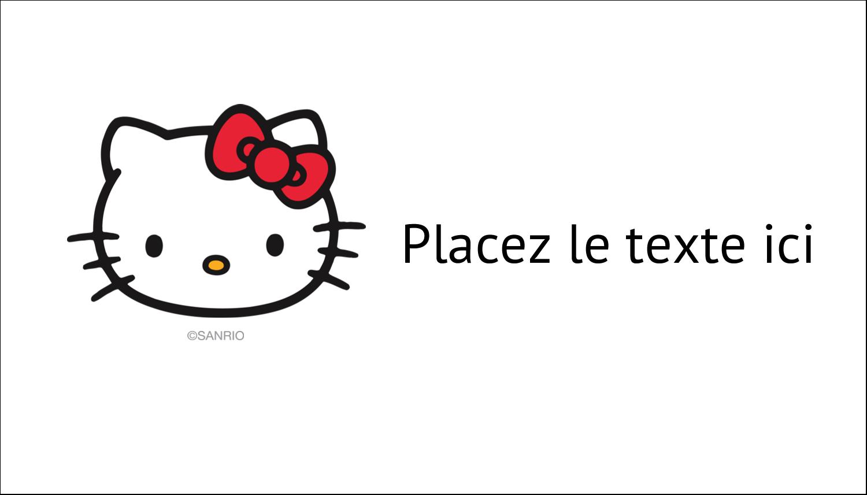 """3"""" x 5"""" Cartes Pour Le Bureau - Bonjour Ami!"""