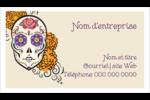Halloween, jour des Morts Cartes Pour Le Bureau - gabarit prédéfini. <br/>Utilisez notre logiciel Avery Design & Print Online pour personnaliser facilement la conception.