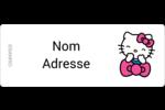 Hello Kitty rigole Étiquettes D'Adresse - gabarit prédéfini. <br/>Utilisez notre logiciel Avery Design & Print Online pour personnaliser facilement la conception.