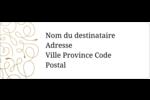Noël étincelant Étiquettes D'Adresse - gabarit prédéfini. <br/>Utilisez notre logiciel Avery Design & Print Online pour personnaliser facilement la conception.