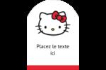 Bonjour Ami! Étiquettes rectangulaires - gabarit prédéfini. <br/>Utilisez notre logiciel Avery Design & Print Online pour personnaliser facilement la conception.