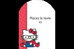 Votre Ami Hello Kitty Étiquettes rectangulaires - gabarit prédéfini. <br/>Utilisez notre logiciel Avery Design & Print Online pour personnaliser facilement la conception.