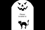 Prime d'Halloween Étiquettes arrondies - gabarit prédéfini. <br/>Utilisez notre logiciel Avery Design & Print Online pour personnaliser facilement la conception.