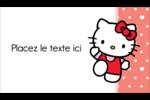 Nous aimons Hello Kitty Carte d'affaire - gabarit prédéfini. <br/>Utilisez notre logiciel Avery Design & Print Online pour personnaliser facilement la conception.
