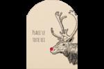 Nez rouge  Étiquettes rectangulaires - gabarit prédéfini. <br/>Utilisez notre logiciel Avery Design & Print Online pour personnaliser facilement la conception.